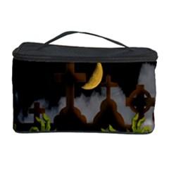 Halloween Zombie Hands Cosmetic Storage Case by Valentinaart
