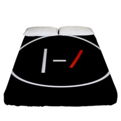Twenty One Pilots Band Logo Fitted Sheet (king Size) by Onesevenart