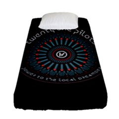 Twenty One Pilots Power To The Local Dreamder Fitted Sheet (single Size) by Onesevenart