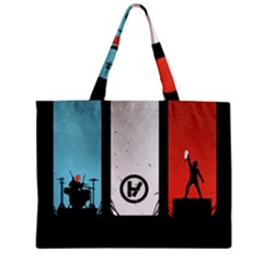 Twenty One 21 Pilots Zipper Mini Tote Bag by Onesevenart