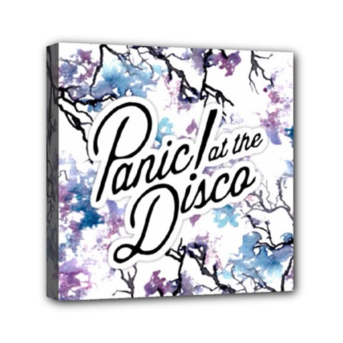 Panic! At The Disco Mini Canvas 6  X 6  by Onesevenart