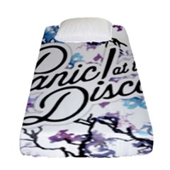 Panic! At The Disco Fitted Sheet (single Size) by Onesevenart