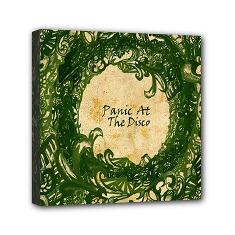 Panic At The Disco Mini Canvas 6  X 6  by Onesevenart