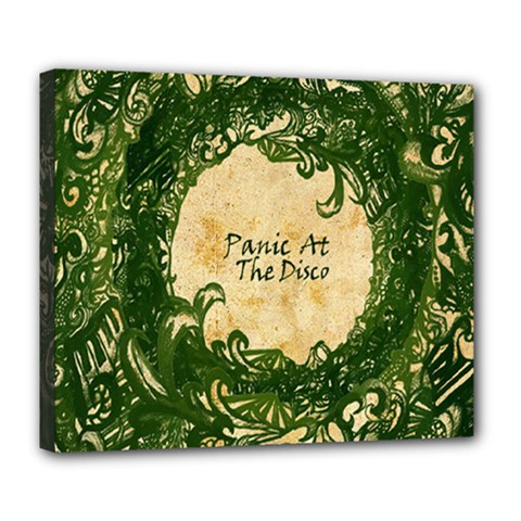 Panic At The Disco Deluxe Canvas 24  X 20   by Onesevenart