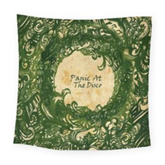 Panic At The Disco Square Tapestry (large) by Onesevenart