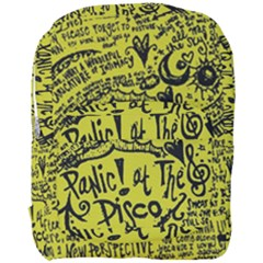 Panic! At The Disco Lyric Quotes Full Print Backpack by Onesevenart