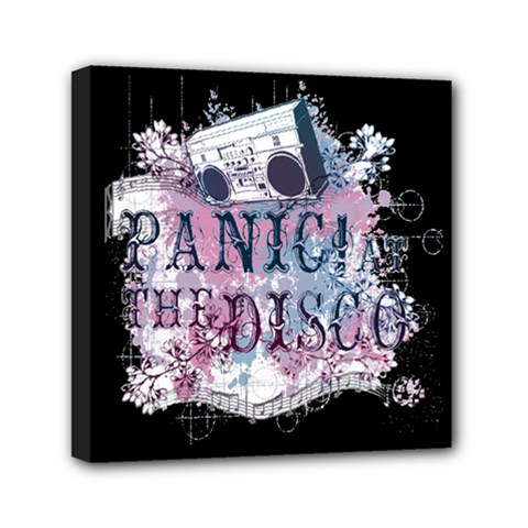 Panic At The Disco Art Mini Canvas 6  X 6  by Onesevenart