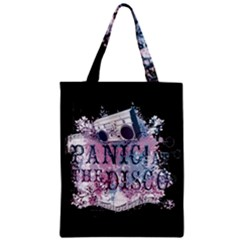 Panic At The Disco Art Zipper Classic Tote Bag by Onesevenart