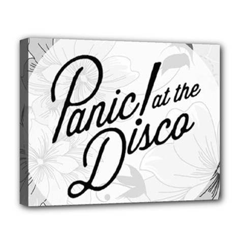 Panic At The Disco Flowers Deluxe Canvas 20  X 16   by Onesevenart