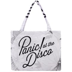 Panic At The Disco Flowers Mini Tote Bag by Onesevenart