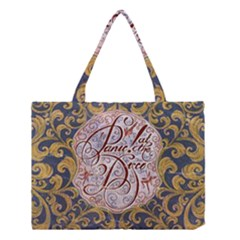 Panic! At The Disco Medium Tote Bag by Onesevenart