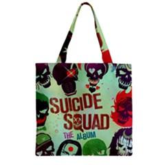 Panic! At The Disco Suicide Squad The Album Zipper Grocery Tote Bag by Onesevenart