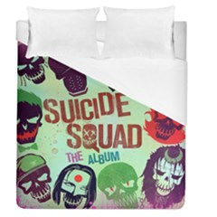 Panic! At The Disco Suicide Squad The Album Duvet Cover (queen Size) by Onesevenart