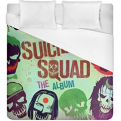 Panic! At The Disco Suicide Squad The Album Duvet Cover (king Size) by Onesevenart