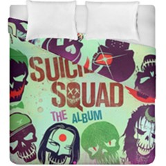 Panic! At The Disco Suicide Squad The Album Duvet Cover Double Side (king Size) by Onesevenart
