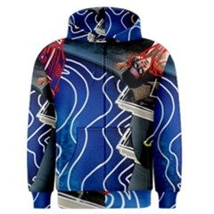 Panic! At The Disco Released Death Of A Bachelor Men s Zipper Hoodie by Onesevenart