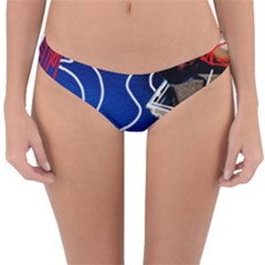 Panic! At The Disco Released Death Of A Bachelor Reversible Hipster Bikini Bottoms by Onesevenart