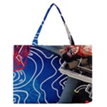 Panic! At The Disco Released Death Of A Bachelor Zipper Medium Tote Bag