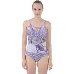 Panic At The Disco Cut Out Top Tankini Set by Onesevenart