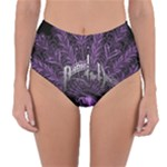 Panic At The Disco Reversible High-Waist Bikini Bottoms