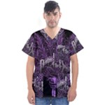 Panic At The Disco Men s V-Neck Scrub Top
