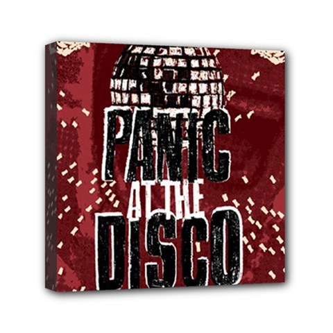 Panic At The Disco Poster Mini Canvas 6  X 6  by Onesevenart