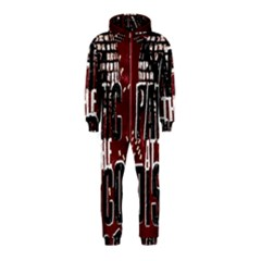 Panic At The Disco Poster Hooded Jumpsuit (kids) by Onesevenart