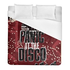 Panic At The Disco Poster Duvet Cover (full/ Double Size) by Onesevenart
