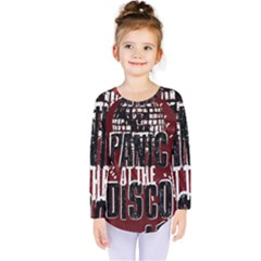 Panic At The Disco Poster Kids  Long Sleeve Tee by Onesevenart