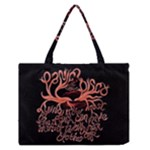 Panic At The Disco   Lying Is The Most Fun A Girl Have Without Taking Her Clothes Zipper Medium Tote Bag