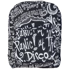 Panic ! At The Disco Lyric Quotes Full Print Backpack by Onesevenart
