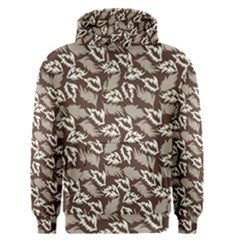 Dried Leaves Grey White Camuflage Summer Men s Pullover Hoodie by Mariart