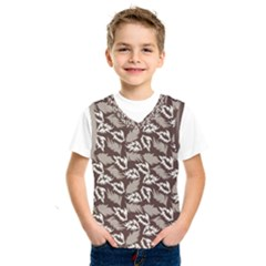 Dried Leaves Grey White Camuflage Summer Kids  Sportswear by Mariart