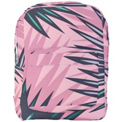 Graciela Detail Petticoat Palm Pink Green Full Print Backpack