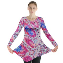 Histology Inc Histo Logistics Incorporated Alcian Blue Long Sleeve Tunic  by Mariart