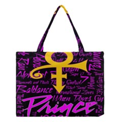 Prince Poster Medium Tote Bag by Onesevenart