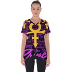 Prince Poster Cut Out Side Drop Tee