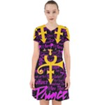 Prince Poster Adorable in Chiffon Dress