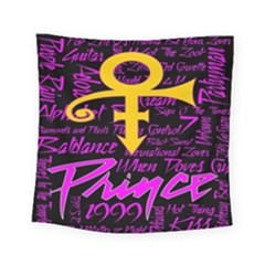 Prince Poster Square Tapestry (small) by Onesevenart