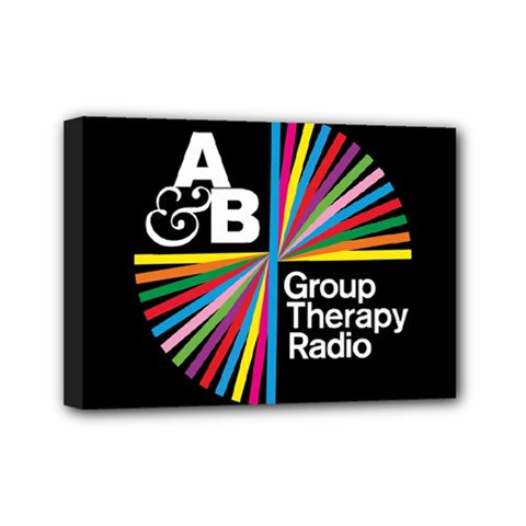 Above & Beyond  Group Therapy Radio Mini Canvas 7  X 5  by Onesevenart
