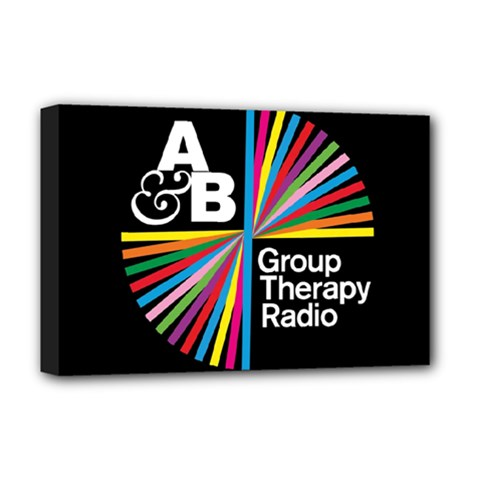 Above & Beyond  Group Therapy Radio Deluxe Canvas 18  X 12   by Onesevenart