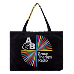 Above & Beyond  Group Therapy Radio Medium Tote Bag by Onesevenart