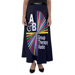 Above & Beyond  Group Therapy Radio Flared Maxi Skirt by Onesevenart