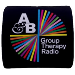 Above & Beyond  Group Therapy Radio Back Support Cushion by Onesevenart
