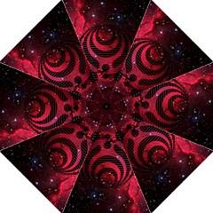 Bassnectar Galaxy Nebula Folding Umbrellas by Onesevenart