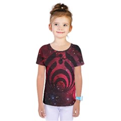 Bassnectar Galaxy Nebula Kids  One Piece Tee by Onesevenart
