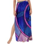 Enchanted Rose Stained Glass Maxi Chiffon Tie-Up Sarong