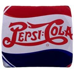 Pepsi Cola Back Support Cushion by Onesevenart