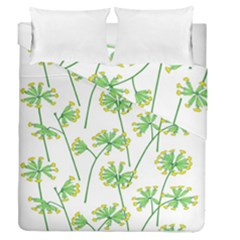 Marimekko Fabric Flower Floral Leaf Duvet Cover Double Side (queen Size) by Mariart