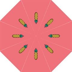 Pineapple Fruite Minimal Wallpaper Hook Handle Umbrellas (large) by Mariart